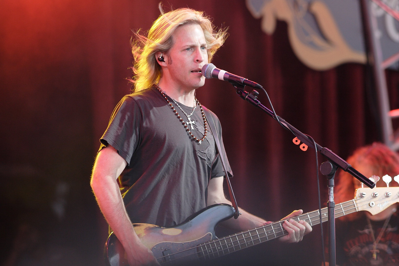 """Matthew Nelson in the """"Ricky Nelson Remembered"""" show at Epcot"""