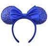 Minnie Mouse Ear Headband –  Wishes Come True Blue