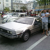 The only thing more random than seeing a tricked out Delorean totally true to the movie in Celebration, FL, was seeing Cory Feldman walk right by us just moments before-true story