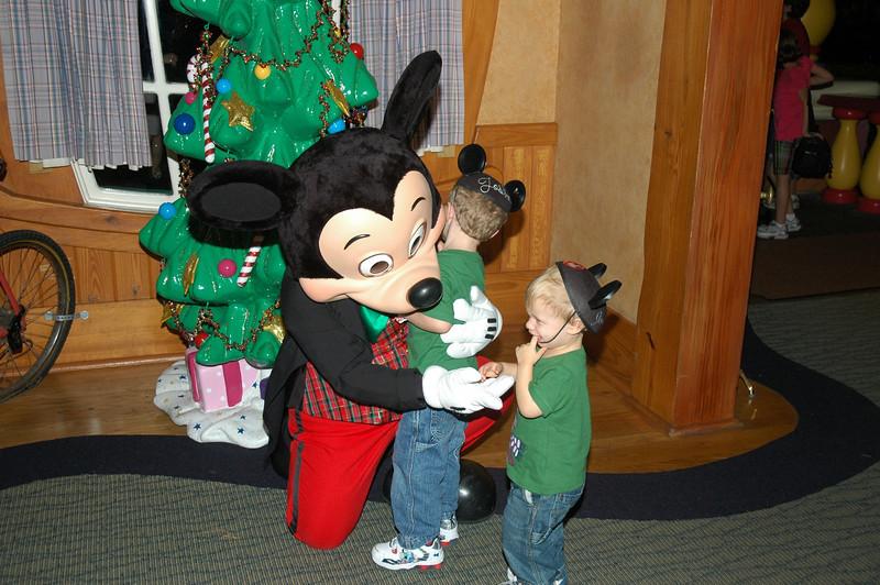 Christmas Mickey!