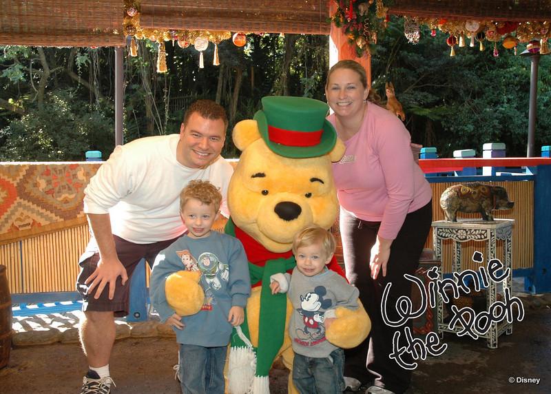 Christmas Pooh...love it