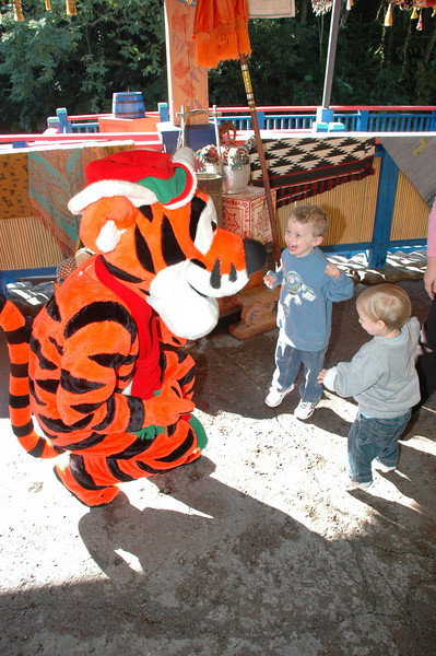 They are bouncing like Tigger, because bouncing is what Tiggers do best!