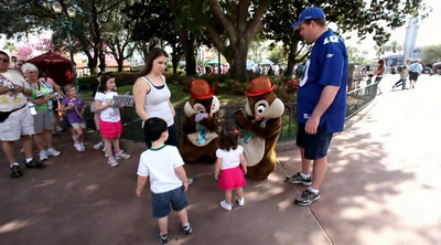 Chip & Dale, Buzz & Woody, Cars
