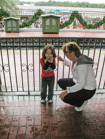 Disney with Jaden Dec 2009