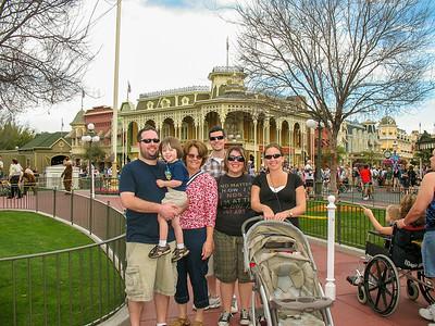 Family Disney World Camping Feb 2009