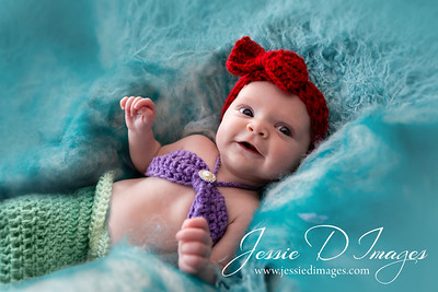 Disney Arial Newborn - little mermaid