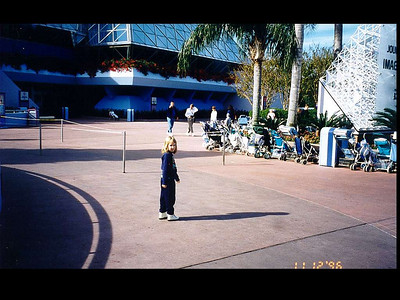 1996 Disney Family Trip - EPCOT - Future World