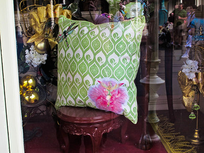 adorable Tinker Bell and dragonfly pillow