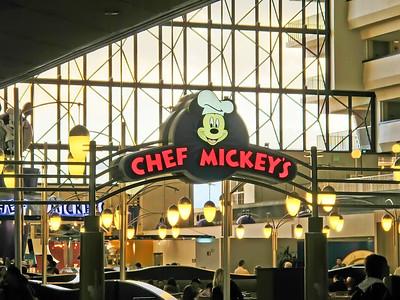 Chef Mickey's in the Contemporary Concourse