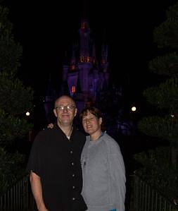 Magic Kingdom Visit - Scott & Susan