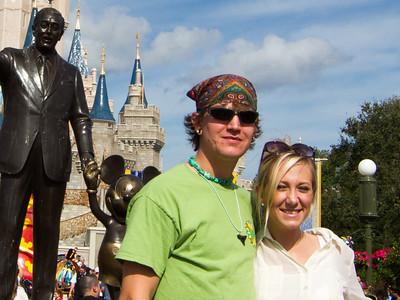 Magic Kingdom Visit - Luke & Camille