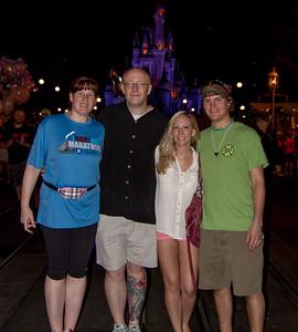 Magic Kingdom Visit - Family Portrait