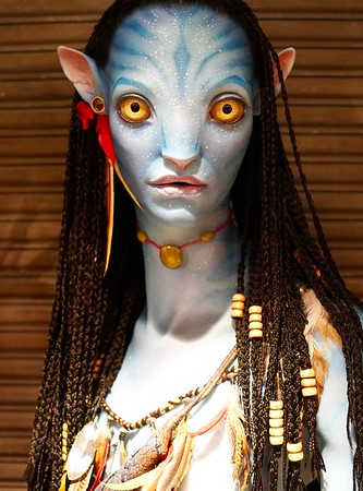 Neytiri Bust at Pandora