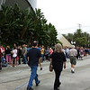 The line to get into the D23 Expo