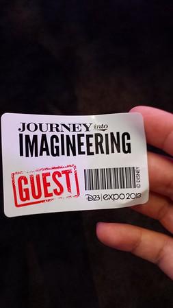 Imagineering Pavillion at 2013 D23 Expo