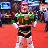 Fan dressed as Buzz Lightyear