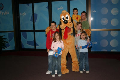 Pluto and the gang-- Epcot