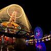 Paradise Pier in Disney California Adventure at night is gorgeous!