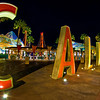 "The old C A L I F O R N I A letters that used to be outside the entrance to Disney California Adventure. <br /> <br /> More on ""Extinct"" DCA: <a href=""http://www.disneytouristblog.com/disney-california-adventure-extinct/"">http://www.disneytouristblog.com/disney-california-adventure-extinct/</a>"