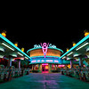"Flo's V8 Cafe in Cars Land at Disney California Adventure looks awesome at night, with all of its neon goodness! <br /> <br /> See more Cars Land photos by Tom Bricker: <a href=""http://www.disneytouristblog.com/cars-land-photos/"">http://www.disneytouristblog.com/cars-land-photos/</a>"