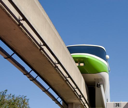 Disney Monorail Trains