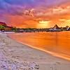 Disney's Polynesian Resort at Sunset
