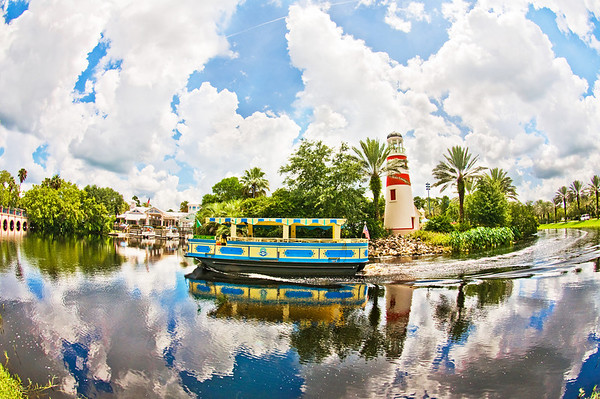 """A fisheye view of Disney's Old Key West Resort. The original Disney Vacation Club Resort! <br /> <br /> Visit my blog for info, photos, and reviews of Disney hotels: <a href=""""http://www.disneytouristblog.com/disney-resorts/"""">http://www.disneytouristblog.com/disney-resorts/</a>"""