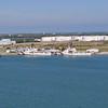 US Coast Guard ships at Port Canaveral.