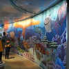 Nemo mosaic inside the Disney Dream