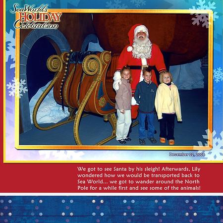 Christmas 2008 Scrapbook