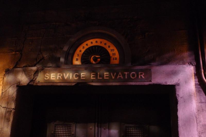 Hollywood Tower of Terror, Disneyland CA.