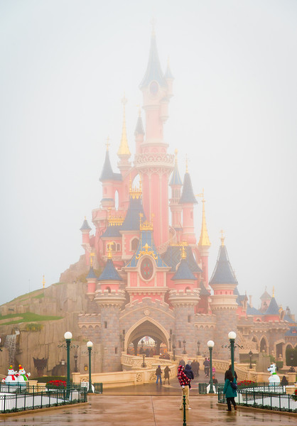 """Normally fog makes for disappointing photography conditions, but I think it works here! <br /> <br /> For Disneyland Paris information, visit: <a href=""""http://www.disneytouristblog.com/disneyland-paris-trip-planning/"""">http://www.disneytouristblog.com/disneyland-paris-trip-planning/</a>"""