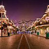 "An empty Main Street, USA in Disneyland Paris, with the Christmas tree at the end of the street near the EuroDisney Railroad Station. <br /> <br /> Read more about Disneyland Paris Christmas:  <a href=""http://www.disneytouristblog.com/disneyland-paris-christmas/"">http://www.disneytouristblog.com/disneyland-paris-christmas/</a>"