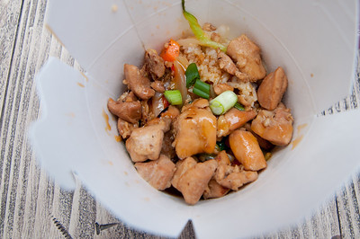 Lucky Fortune Cookery Asian Rice Bowl Teriyaki Chicken