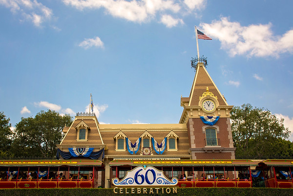 Main Street Station - Disneyland