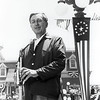 Walt Disney at the opening of Disneyland in 1955.