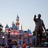 The Partners Statue & Sleepy Beauty's Castle