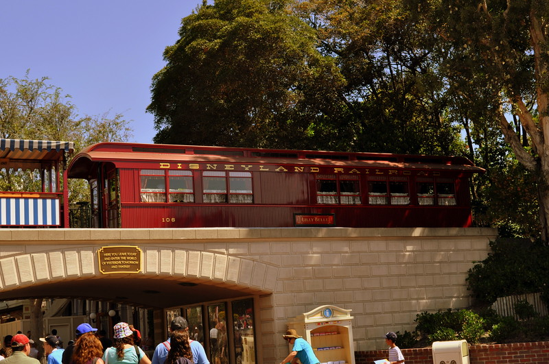 Disneyland's Presidential Parlor Car<br />  The Lilly Belle