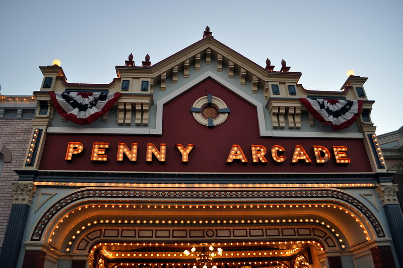 The Penny Arcade on Main Street