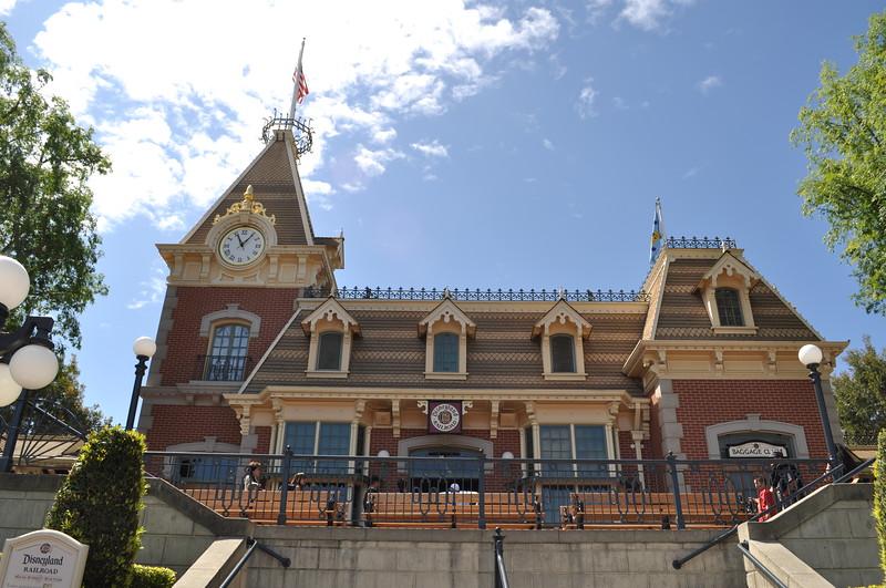 Disneyland's Main Street Station