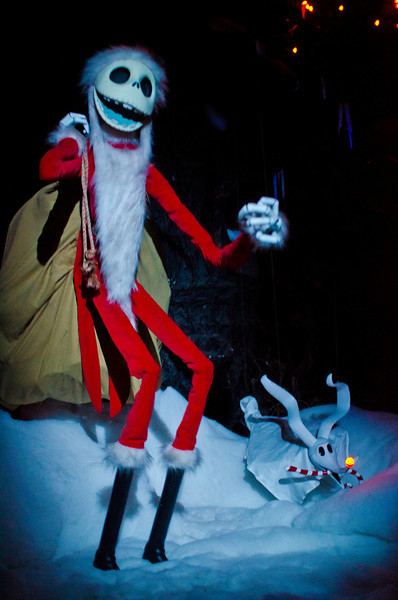 <b>Disneyland Resort Disneyland (park) Haunted Mansion Holiday</b>  This Santa Jack Skellington Audio-Animatronics figure is so cool!   For more tips, information, and photos of Disneyland, visit my blog: http://www.disneytouristblog.com/