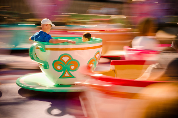 """Just looking at this photo of the Mad Tea Party might make you queasy! <br /> <br /> This was one of my """"Top 12 Photos of 2012."""" See the rest:  <a href=""""http://www.disneytouristblog.com/top-12-disney-photos-of-2012/"""">http://www.disneytouristblog.com/top-12-disney-photos-of-2012/</a>"""