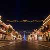<b>Disneyland Resort Disneyland (park) Main Street, USA</b>  The Disneyland Christmas tree looks like minuscule off in the distance, but rest assured, it's actually quite tall!   For more tips, information, and photos of Disneyland, visit my blog: http://www.disneytouristblog.com/