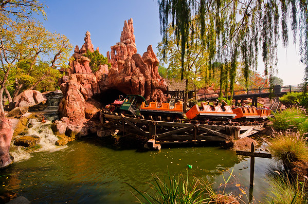 Hope you Disneyland fans got your fix of Big Thunder Mountain Railroad before it went down, because it's now closed until Fall 2013!