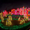 <b>Disneyland Resort Disneyland (park) Fantasyland 'it's a small world' holiday</b>  It's a veritable zoo out in front of 'it's a small world'. I think I see a giraffe, rhino, bear(?)...not sure about the others. What do you think they are?   For more 'it's a small world' holiday, check out this page, which includes my video of the attraction! http://www.disneytouristblog.com/its-a-small-world-holiday-photos-video-review/