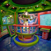 "Buzz Lightyear Audio-Animatronics figure in the queue for Astro Blasters at Disneyland. Photo taken with a Rokinon 8mm fisheye lens.<br /> <br /> Lens review: <a href=""http://www.disneytouristblog.com/8mm-fisheye-samyang-rokinon-lens-review/"">http://www.disneytouristblog.com/8mm-fisheye-samyang-rokinon-lens-review/</a>"