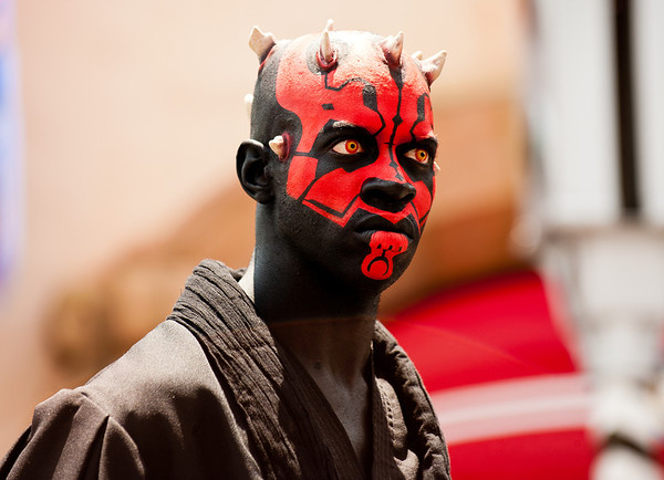 "Darth Maul during Star Wars Weekends at Disney's Hollywood Studios!<br /> <br /> Star Wars Weekends tips: <a href=""http://www.disneytouristblog.com/star-wars-weekends-tips-photos/"">http://www.disneytouristblog.com/star-wars-weekends-tips-photos/</a>"
