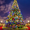 "Epcot's Christmas tree isn't quite the same without the Lights of Winter flanking it, but it's beautiful nonetheless! <br /> <br /> For more on Christmas at Walt Disney World: <a href=""http://www.disneytouristblog.com/disney-world-christmas-ultimate-guide/"">http://www.disneytouristblog.com/disney-world-christmas-ultimate-guide/</a>"