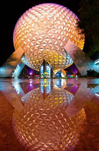 """""""A rainy day at Walt Disney World is better than a nice day at home!""""<br /> <br /> More photos from a rainy night in Epcot: <a href=""""http://www.disneytouristblog.com/disney-world-february-2012-trip-report-part-1/"""">http://www.disneytouristblog.com/disney-world-february-2012-trip-report-part-1/</a>"""