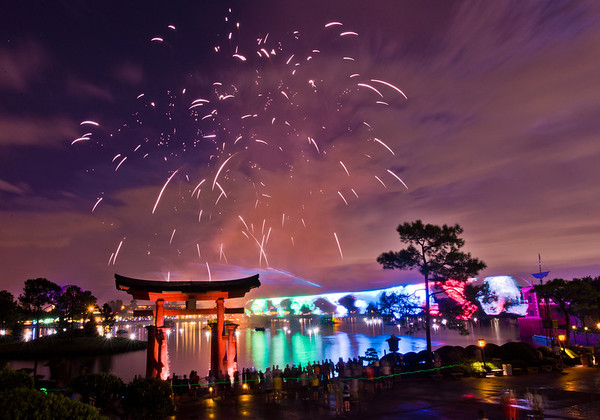 """Illuminations Earth in transit. (96 second exposure, shot with the Nikon D600: <a href=""""http://www.disneytouristblog.com/nikon-d600-review/"""">http://www.disneytouristblog.com/nikon-d600-review/</a>)"""